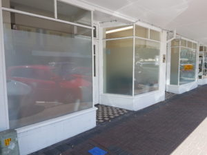 Frost Film for Street frontage privacy - Suntamers NZ