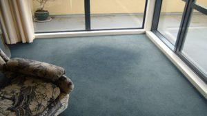 Carpet fade damage